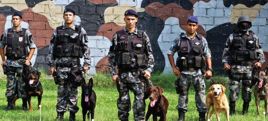 Volta Redonda vai sediar Batalhão de Ações com Cães da PM
