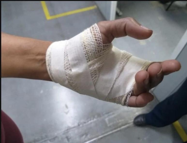 Com uma faca, marido fere mulher em Barra Mansa