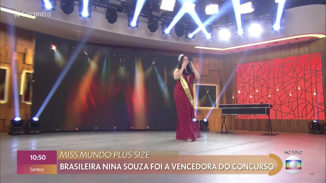 Antes ser miss mundo, Nina sofreu de bulimia, anorexia e depressão