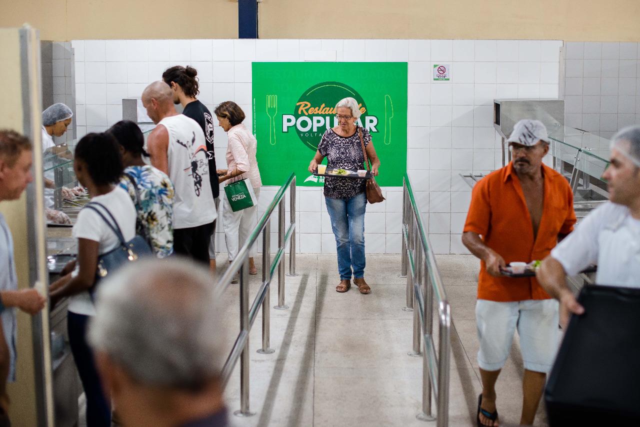 Restaurante Popular reabre pelo programa Cidade Solidária
