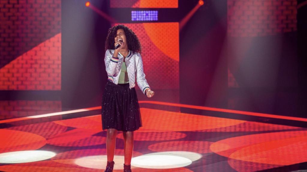 Karen Silva, de Volta Redonda, está na semifinal do The Voice Kids