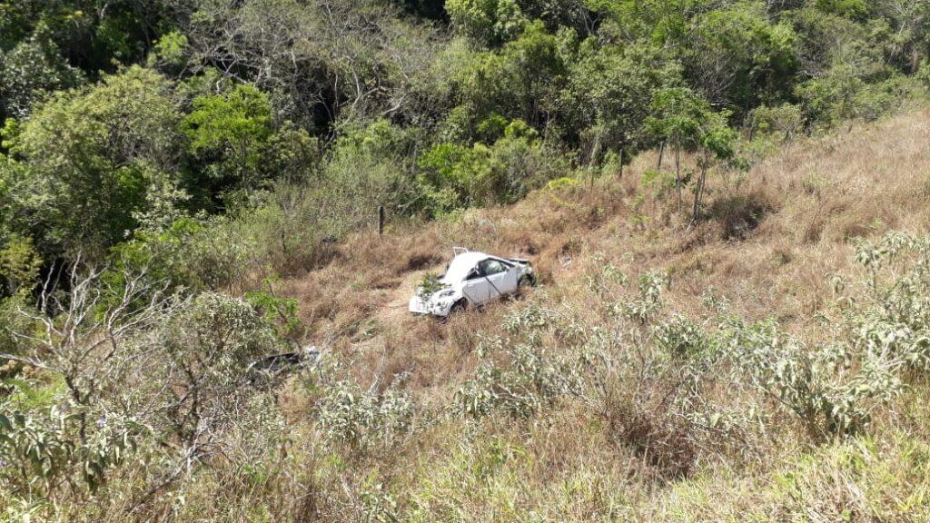 Greve acidente deixa mulher de Barra Mansa ferida em Minas