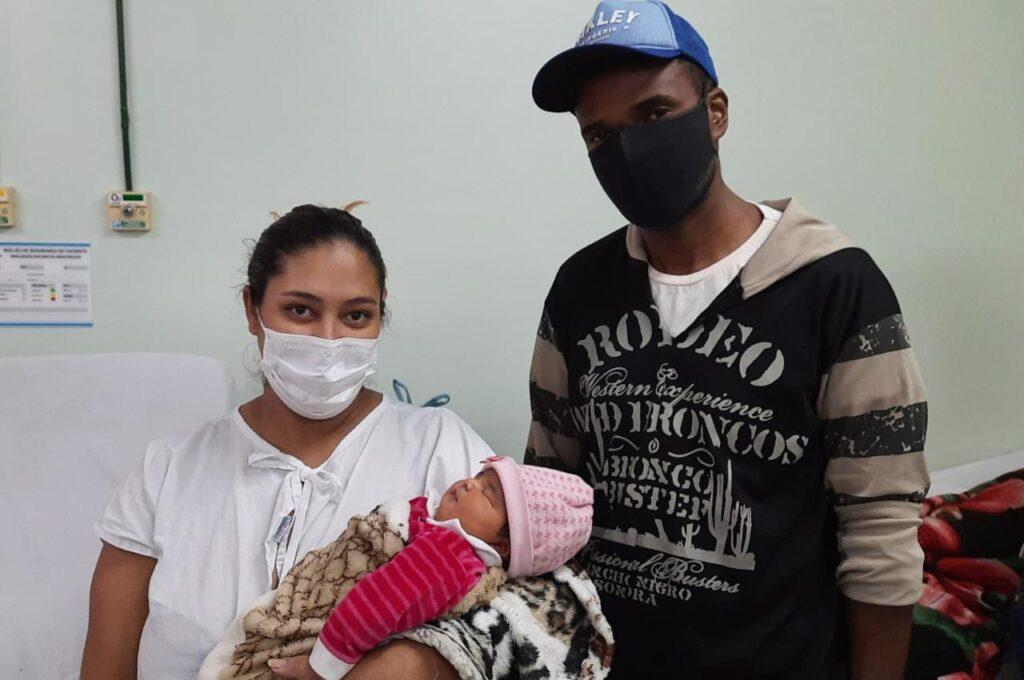 Mãe de Volta Redonda conta como é o parto de alto risco