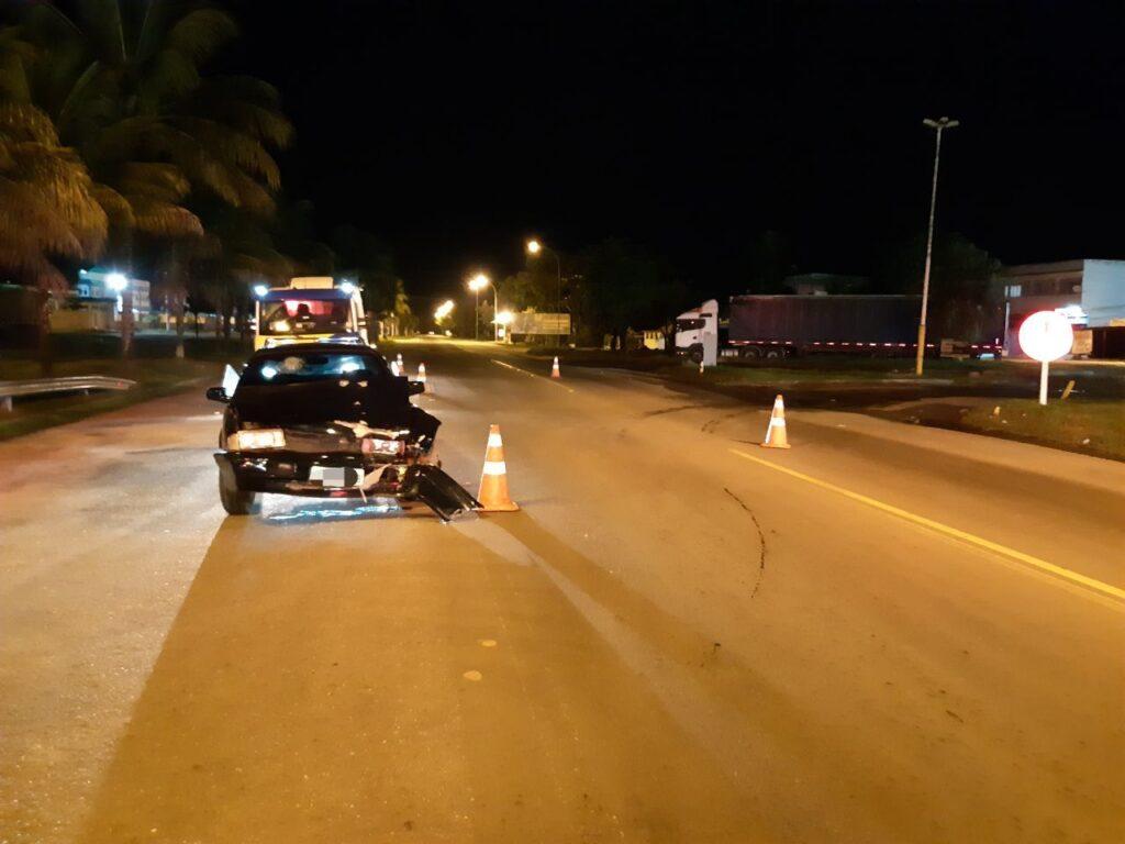 Alcoolizado, motorista provoca acidente em Volta Redonda