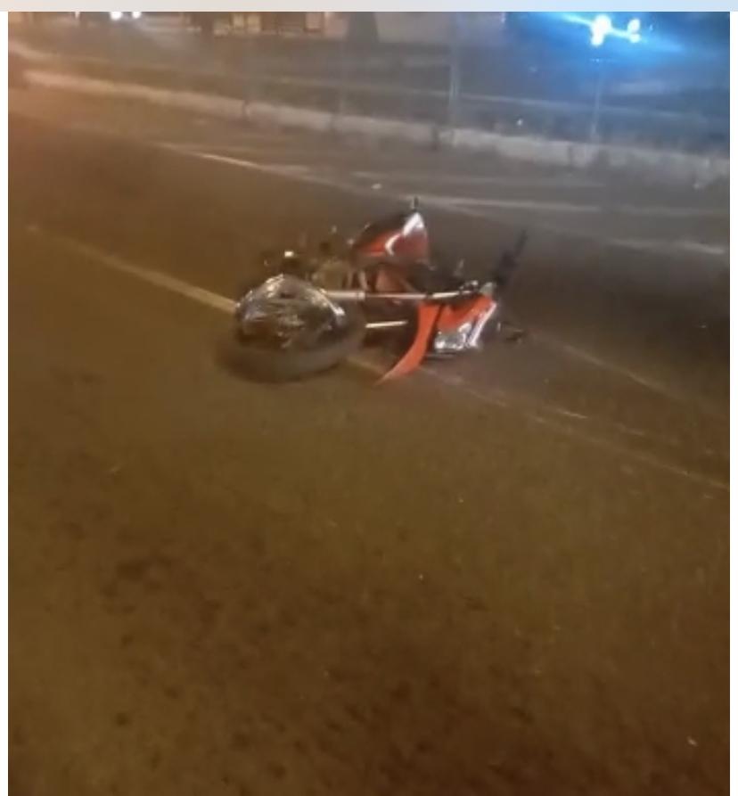 VR: Motoboy sofre acidente na Vila Santa Cecília