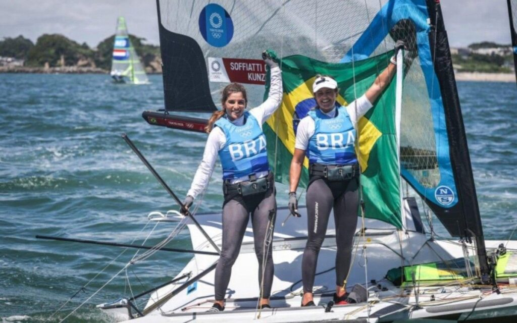 Brasil ganha ouro na vela e bronze no atletismo nesta madrugada
